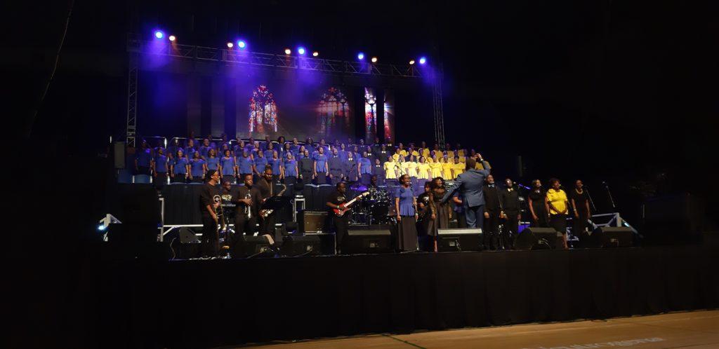 Barbados Gospelfest Mass Choir